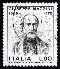 Giuseppe Mazzini stamp