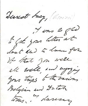 Letter to Lucy Rossetti, 10 July 1875